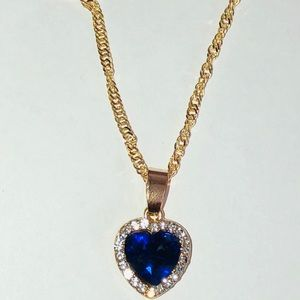 Jewelry - Heart necklace 💙
